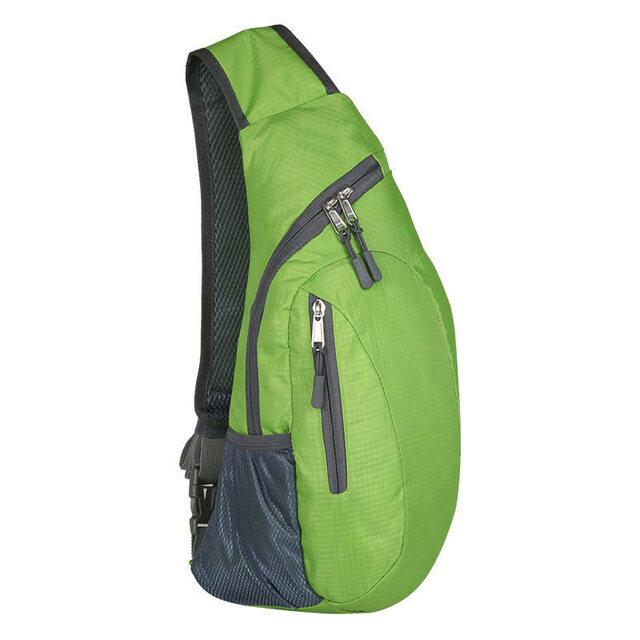 Men Waterproof Chest Bag Pack Travel Sport Shoulder Sling Backpack Cross Body