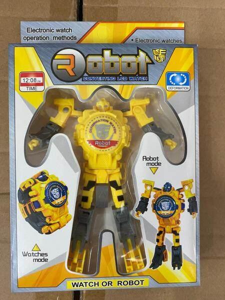 ROBOT converting LCD kids watch (READY STOCK) Malaysia