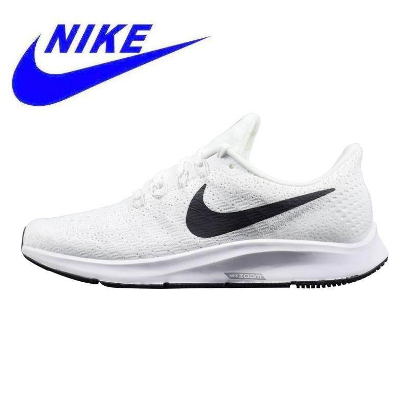NIKE AIR ZOOM PEGASUS 35 Pria Sepatu Lari Putih   Hitam 59679db5c5