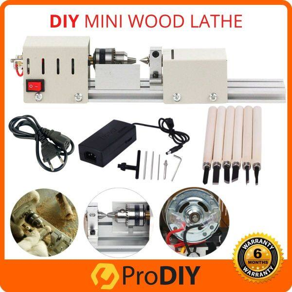 DIY Mini Wood Lathe Machine Woodworking Miniature Buddha Pearl Lathe Grinding Polishing Beads Wood Drill Rotary