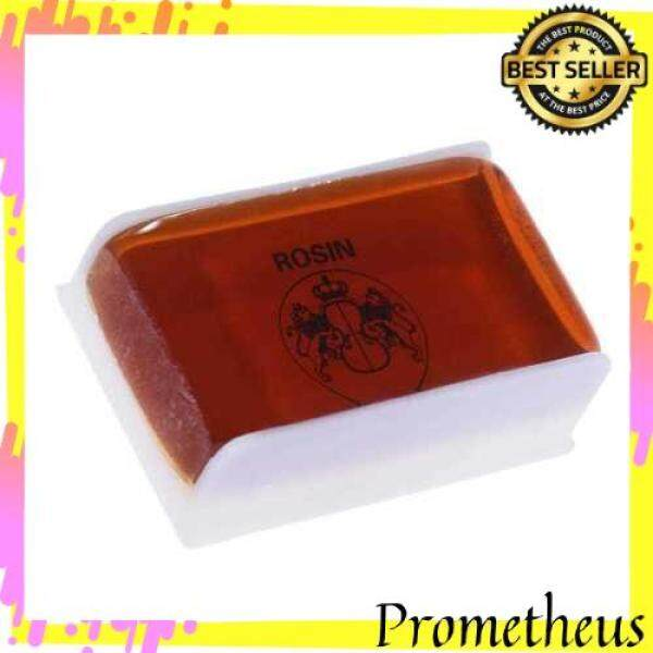 HOT ITEM High-class Transparent Rosin Colophony Low Dust Universal for Bowed String Musical Instruments Violin Viola Cello Erhu Orangered (Brown) Malaysia