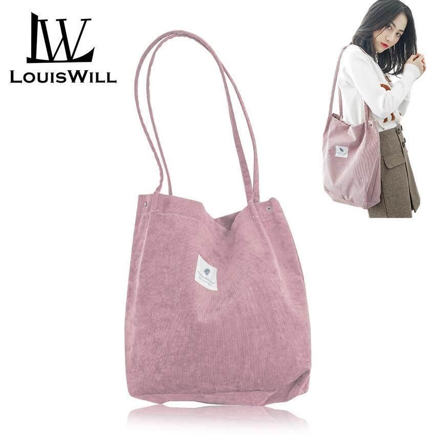 c439a2ee364 LouisWill Shoulder Handbag Women Tote Handbag Polyester Sling Bag Korean  Style Sling Shoulder Bag for Ladies