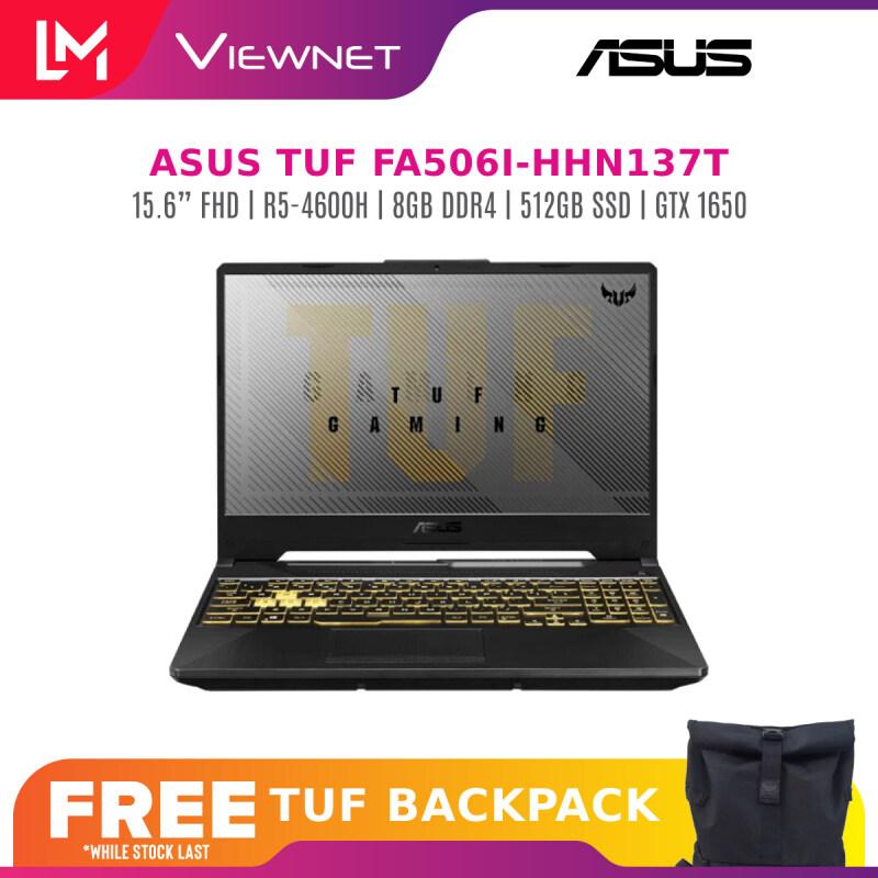 ASUS TUF GAMING FA506I-HHN137T 15.6 FHD144Hz GAMING LAPTOP Ryzen R5-4600H, 8GB RAM, 512GB SSD, NVIDIA GeForce GTX1650 Malaysia