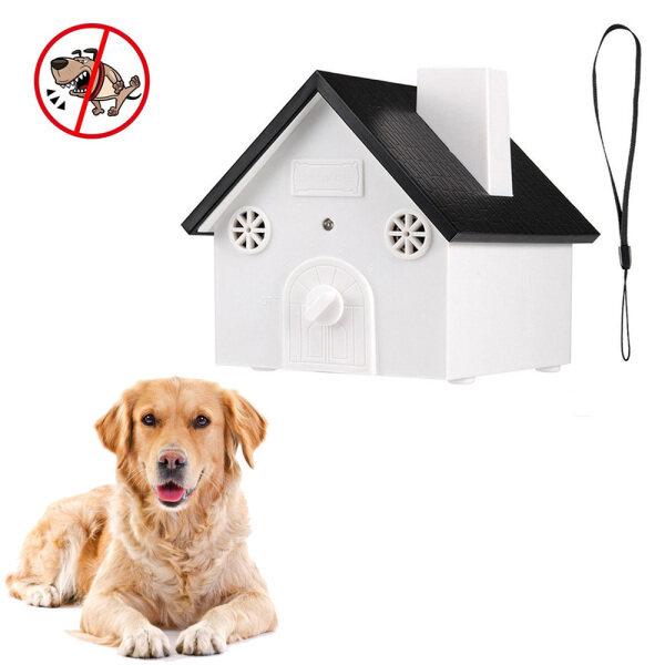 Pet carer mới ngoài trời không thấm nước chó sủa chó Pet siêu âm Thiết bị chống gọi tự động công cụ khử tiếng ồn dụng cụ đào tạo cho chó