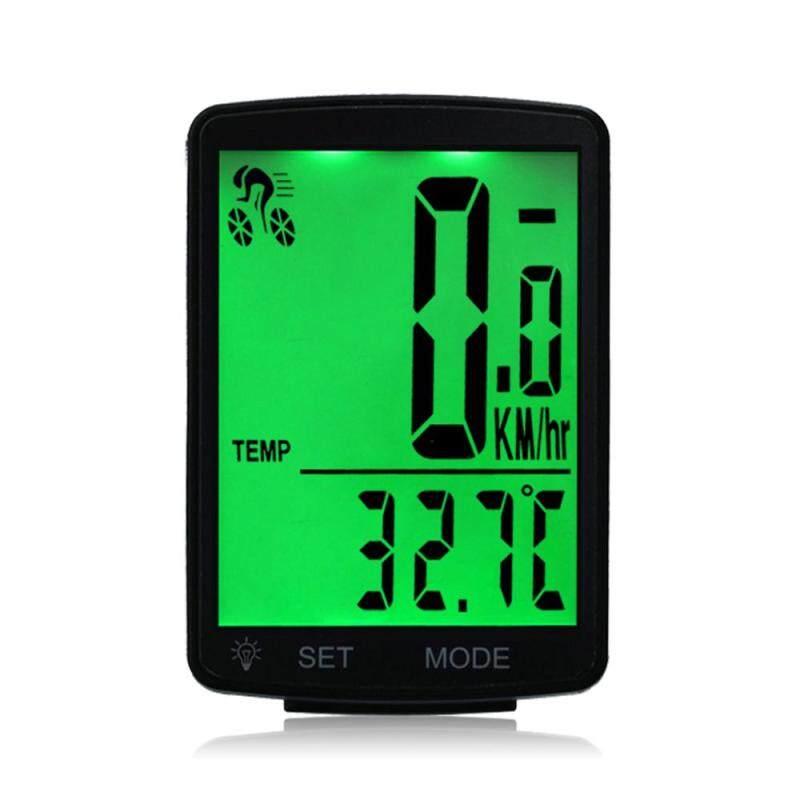 Phân phối (Hàng có sẵn) Đồng hồ đo tốc độ quãng đường kích thước 2.8 inch có khả năng chống nước màn hình hiển thị LCD dùng cho xe đạp - INTL