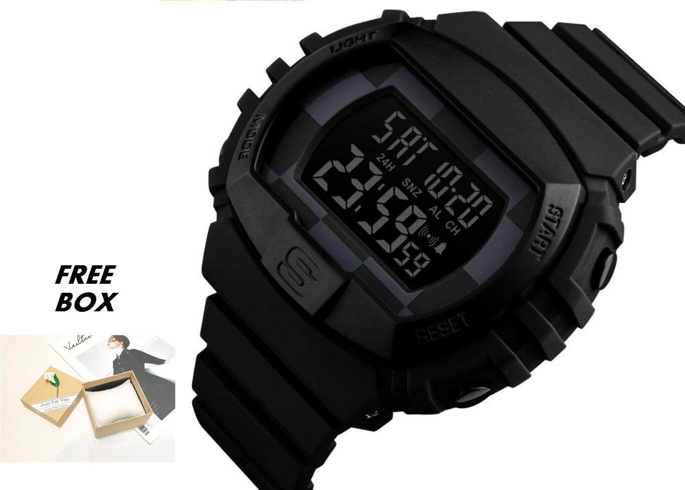 [BDAY SALE] 100% Brand New Mens Sports Watches Military Fashion Multifunction Chrono Waterproof Digital Wristwatches Jam Tangan Lelaki Malaysia