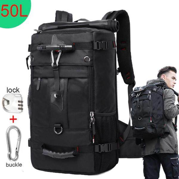 KAKA 50L Waterproof Travel Backpack Multifunction 17.3 Laptop Backpacks outdoor Luggage Bag For Men Women