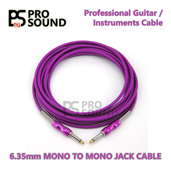 PS High Quality Guitar Instrument Cable Cord Malaysia