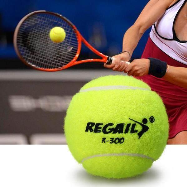 Bảng giá Pack of 12 Pressureless Tennis Balls with Mesh Bag Rubber Bounce Training Practice Tennis Balls Pet Toy