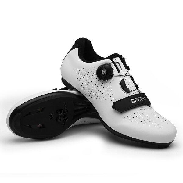 Giày Đua Xe Đạp Đường Trường Cho Nam Nữ Giày Đạp Xe Chuyên Nghiệp Thoáng Khí Ngoài Trời, Giày Thể Thao Leo Núi Tự Khóa Shimano Cỡ 36-45