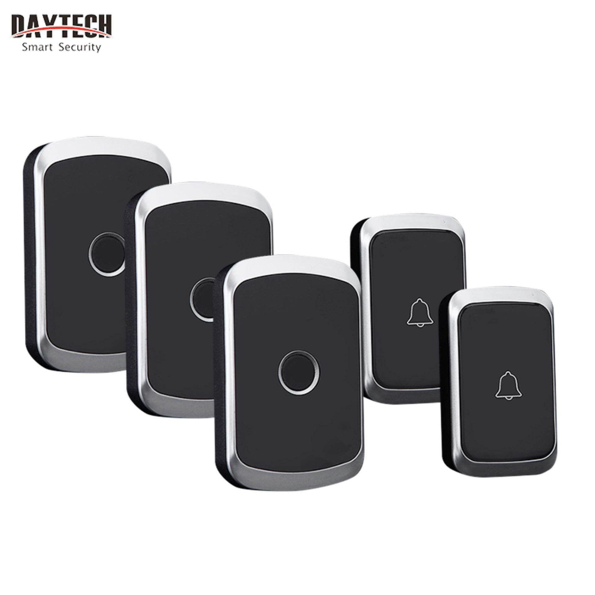 Daytech Buy At Best Price In Malaysia Doorbell Wiring Diagram Two Chimes Wireless Door Bell Waterproof Smart 3 Volume 36 Tunes Chime