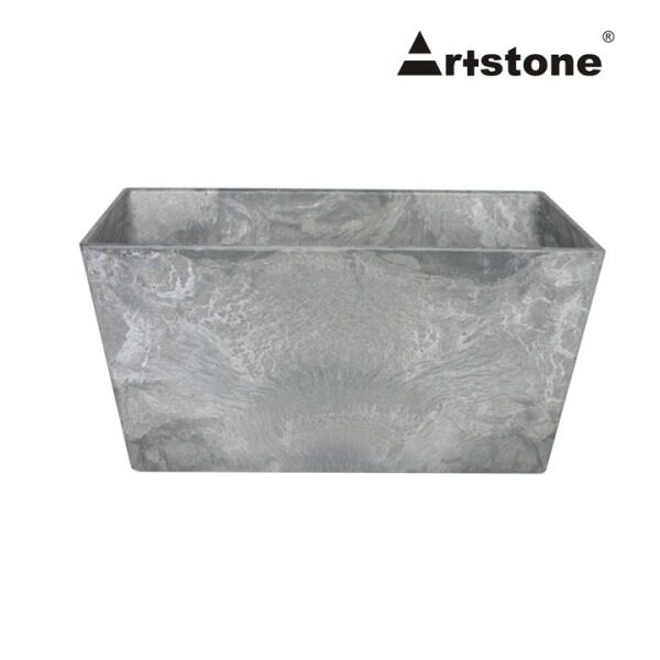 Artstone Decorative Flower Bowl / Pasu Bunga Hiasan / Indoor and Outdoor / Lightweight / Self-Watering Drainage System / Modern Marble Stone Look / Ella Bowl D30 H14