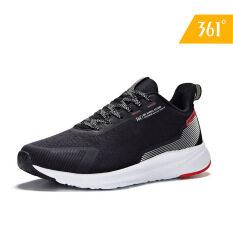 Giày sneaker nam nhẹ thoáng khí đế có công nghệ siêu êm chân thoải mái thiết kế đơn giản 361 degrees