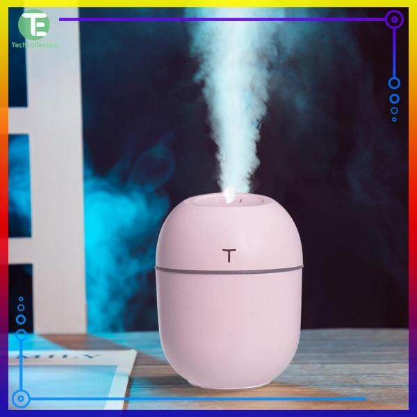 220ml Air Humidifier USB Mini Mist Maker Ultrasonic Aroma Diffuser Hydrating Fogger with Night Lamp Singapore