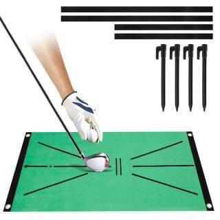 Thảm Tập Golf Trò Chơi Hỗ Trợ Thực Hành Đánh Bóng Phát Hiện Xoay Thảm Cỏ Đánh Bóng Gia Đình Ngoài Trời Exerciser, Thảm Đánh Bóng Golf Thảm Cỏ Thực Hành, Thảm Tập Golf thumbnail