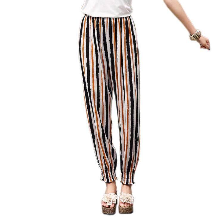 Women Harem Pants Bohemian Boho Yoga Beach Casual Floral Print Summer Pants Plus Size.
