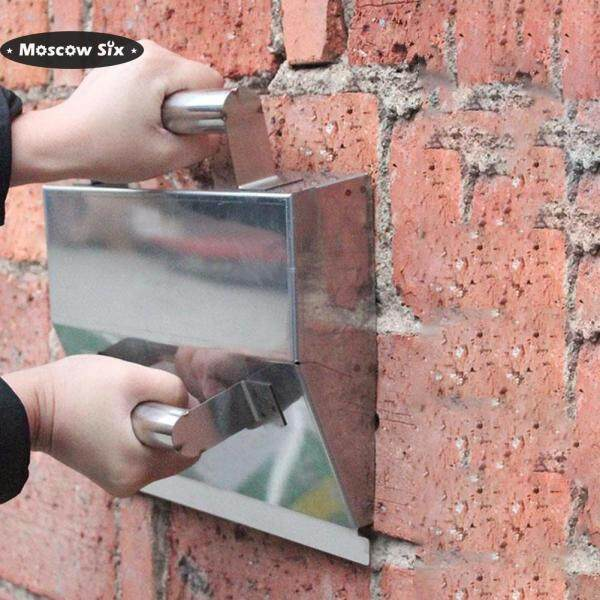 Stainless Steel Wall Plaster Concrete Scraping Dust Trowel Powder Putty Scraper Plasterer Tool