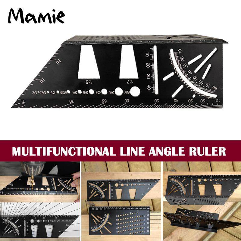 F Fityle Adjustable Ruler Multi Combination Square Angle Finder Protractor Measuring Set Tool Universal Ruler Right Angle