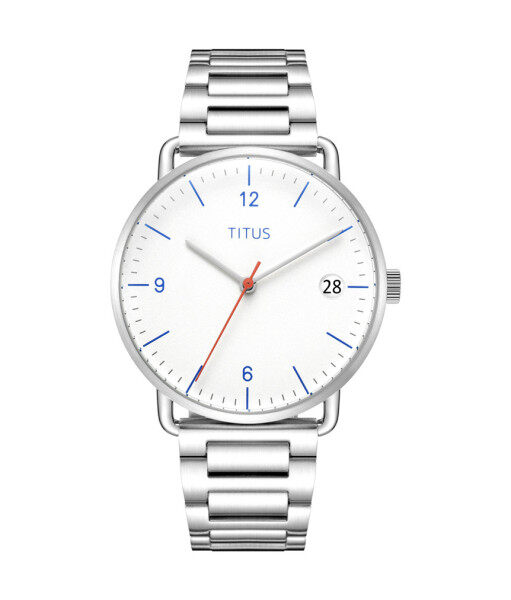 Solvil et Titus W06-03107-001 Womens Quartz Analogue Watch in Silver White Dial and Stainless Steel Strap Malaysia