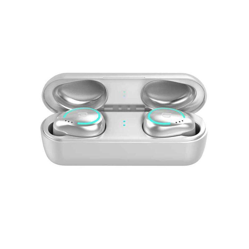niceEshop TWS-I8 True Wireless Headphones Earphones BT Earbuds 5.0 TWS Earbuds Deep Bass for iOS Android Singapore
