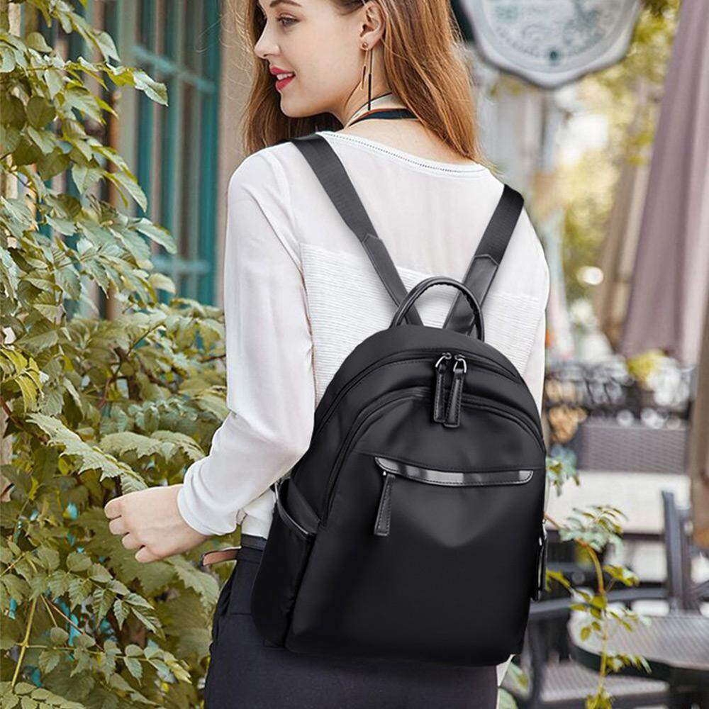 [12.12 Mega Offer] Oxford cloth shoulder bag female tide Korean fashion wild bag travel canvas small backpack handbag