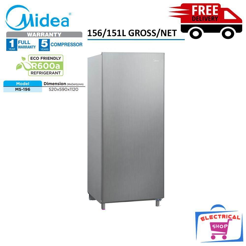 Midea Refrigerator MS196 1 Door 156L Fridge