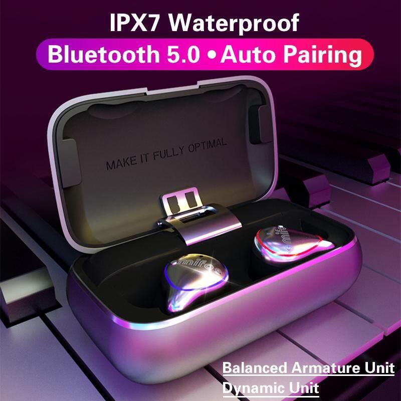 【Free Shipping + Flash Deal】Mifo O5 True Wireless bluetooth 5 0 Mini  Earphone IPX7 Waterproof Earbuds Auto Pairing Sports Stereo HiFi Headset  With