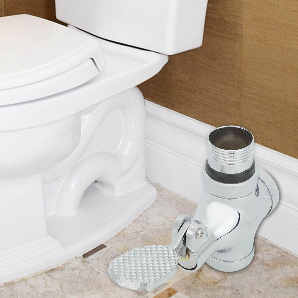 Sunflower 1 Inch Foot Pressing Type Bathroom Toilet Urinal Flush Valve Flushing Pedal Home Accessories