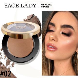 SACE LADY Kosmetik Natural, Kosmetik Rias Bedak Penampilan Natural, Bedak Rias Bronzer, Palet Kontur, Kosmetik 2 Warna thumbnail