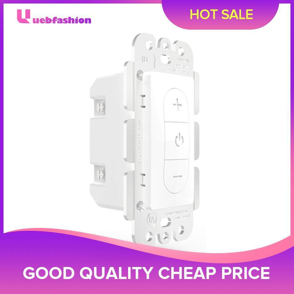WiFi Smart Touch Light Stepless Dimmer Switch Button Panel Voice Control