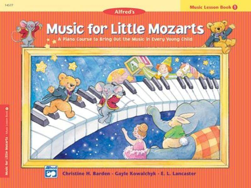 Music for Little Mozarts: Music Lesson Book 1 Malaysia