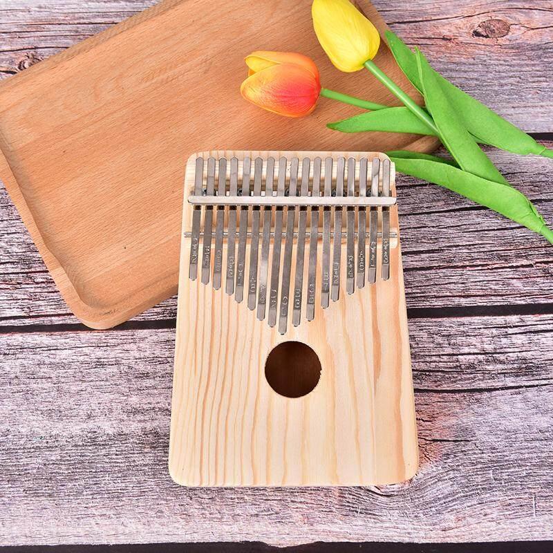Duyên Dáng 17 Phím Kalimba Châu Phi Chắc Chắn Gỗ Thông Ngón Tay Cái Đàn Piano Ngón Tay Bộ Gõ DIY