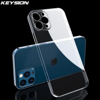Ốp Lưng KEYSION Siêu Mỏng 0.3Mm Trong Suốt Hoàn Toàn Cho iPhone 12 Mini 12 Pro HD Claer PP Ốp Lưng Cho iPhone 12 Pro 12 Pro Max thumbnail