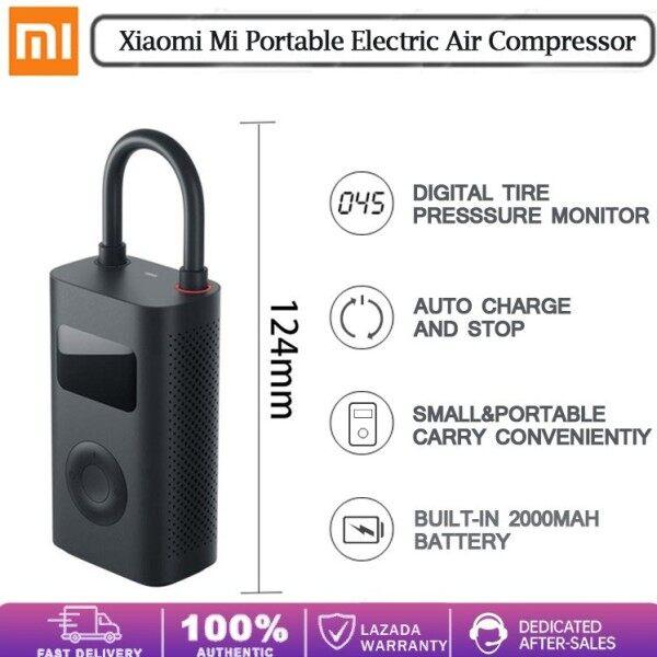Xiaomi Electronic Air Inflator Air Compressor Digital Tire Pressure Detection Pump