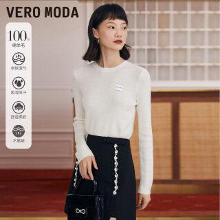 Vero Moda Áo Dài Tay Dệt Kim Len Thường Ngày Cổ Điển Cho Nữ 321313033 thumbnail