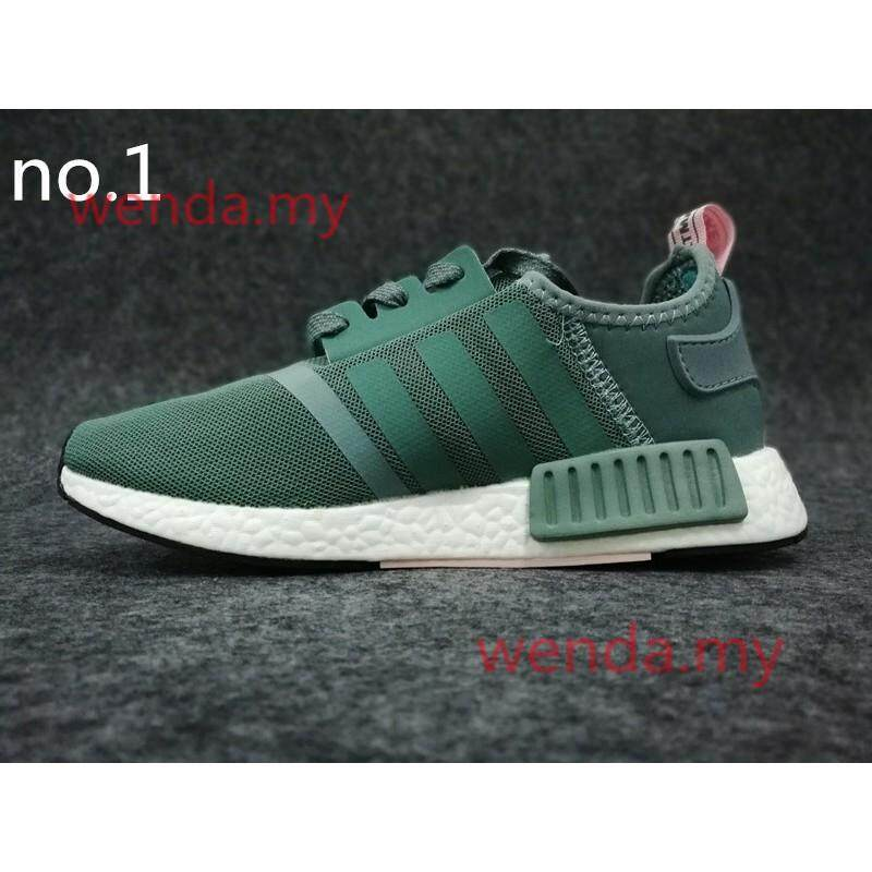 ยี่ห้อนี้ดีไหม  พิจิตร Ready_Stock_Unisex_adidas_nmd_sneaker_shoes_Training_shoes_safety_shoe