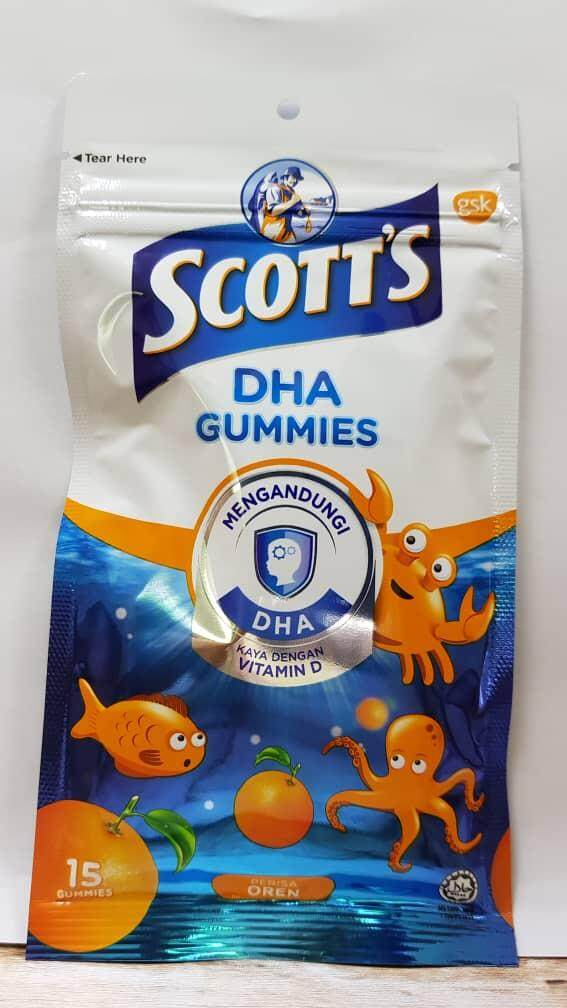 Scott's DHA Gummies 15s x 2pack