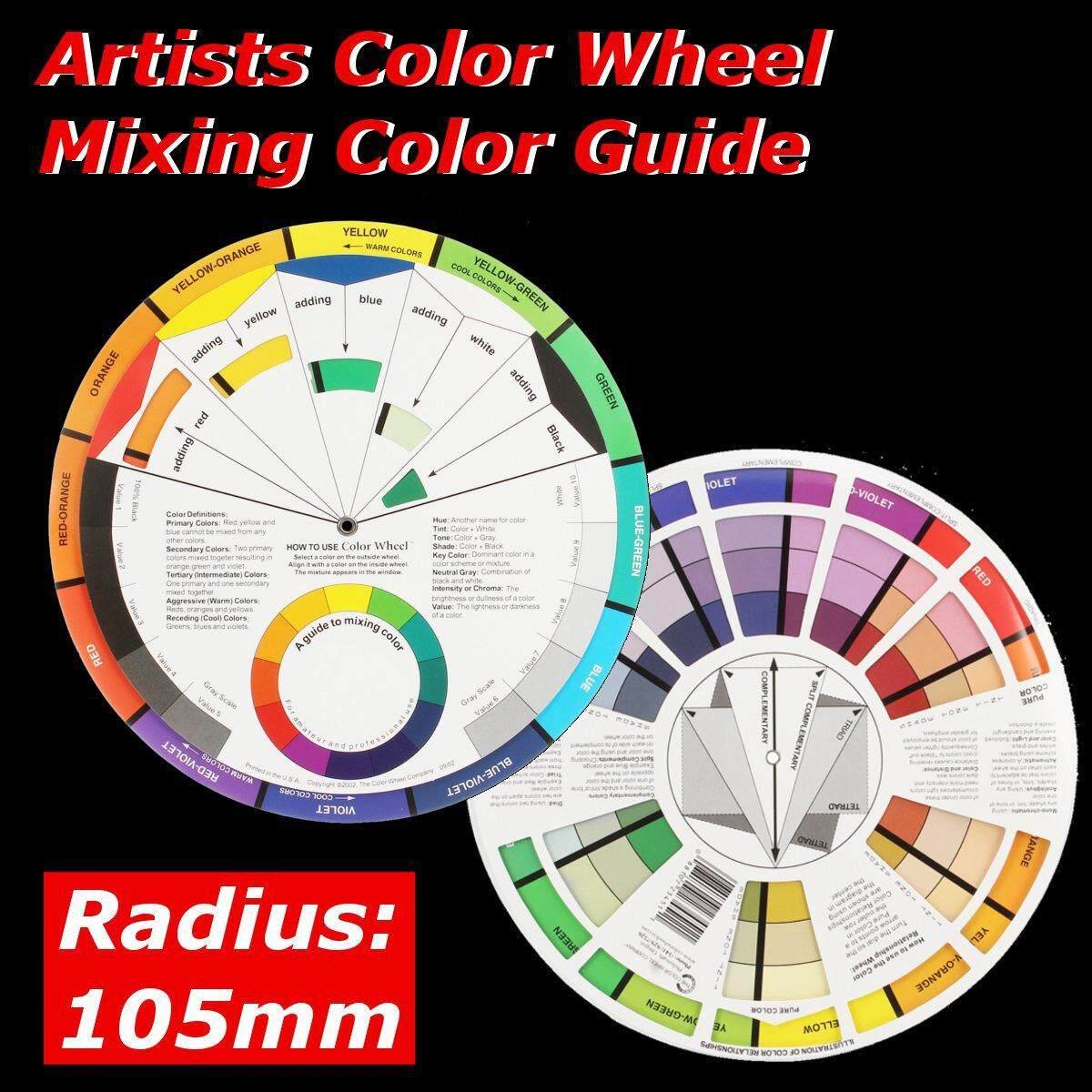 Mua Nghệ Sĩ Pocket Color Wheel Trộn Màu Hướng Dẫn 210 Mm 21 Cm Dia. Bán Kính 105 Mm