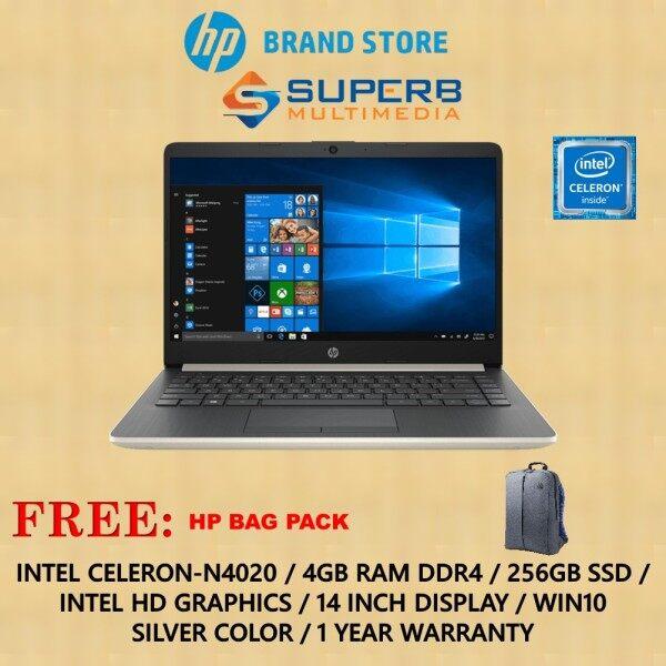HP 14s-cf2030tu / cf2029tu laptop (Intel Celeron N4020, 4GB Ram, 256GB SSD, Intel HD, 14 INCH, Win10) Malaysia