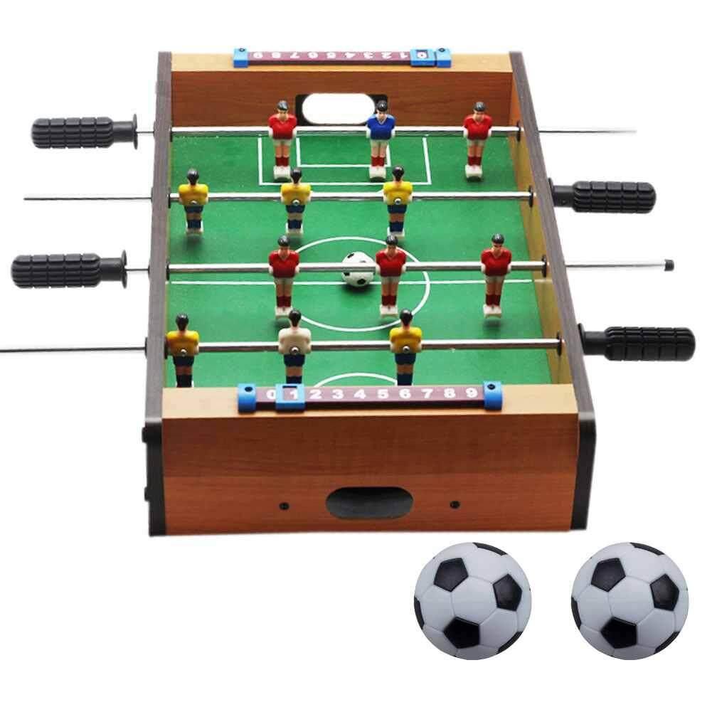 New Plastic Foosball Table Football Soccer Ball Football Foosball Sport Gifts Round Indoor Game