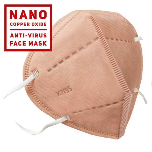 Ucare KN95 with Nano Copper Oxide( anti-virus) face mask( 5PCS)/ FOC Mizu Deodorize Sanitize/REUSABLE 50 times