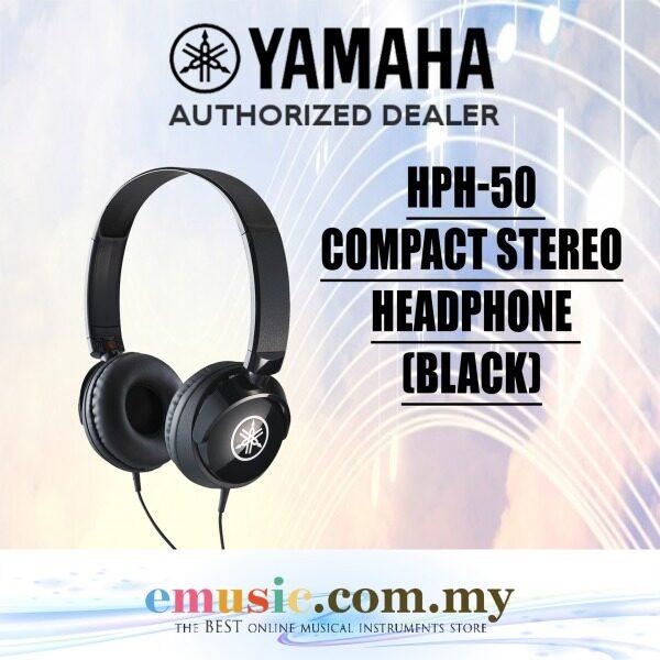 Yamaha HPH-50 Instrument Headphone (Black) (HPH50 / HPH 50) Malaysia