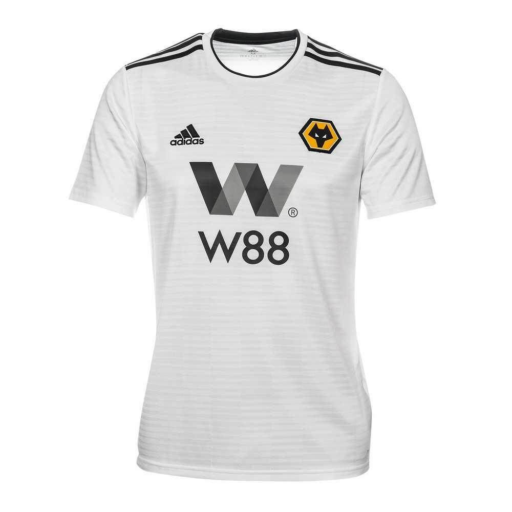 d58337723f4 Wolverhampton Wolves Home 2018 2019 Jersey Short Sleeve Yellow for Men