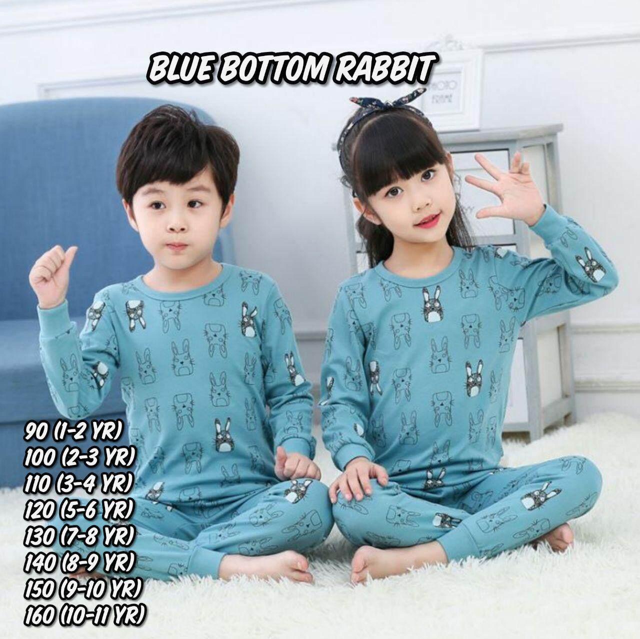 [2-11 Yrs Old] Children Kids Cotton Pajamas By Snzurida.
