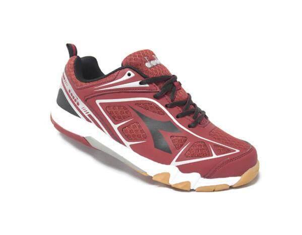 Original Diadora Performance Badminton Shoes DF200067 (Maroon)
