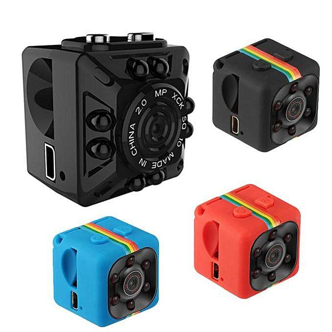 New HD 1080P Mini Camera SQ10/SQ11 Small Camera HD Car Camcorder With Night Vision Mini DVR DV Camera Support TF Card JUN(Black SQ11 1080P)