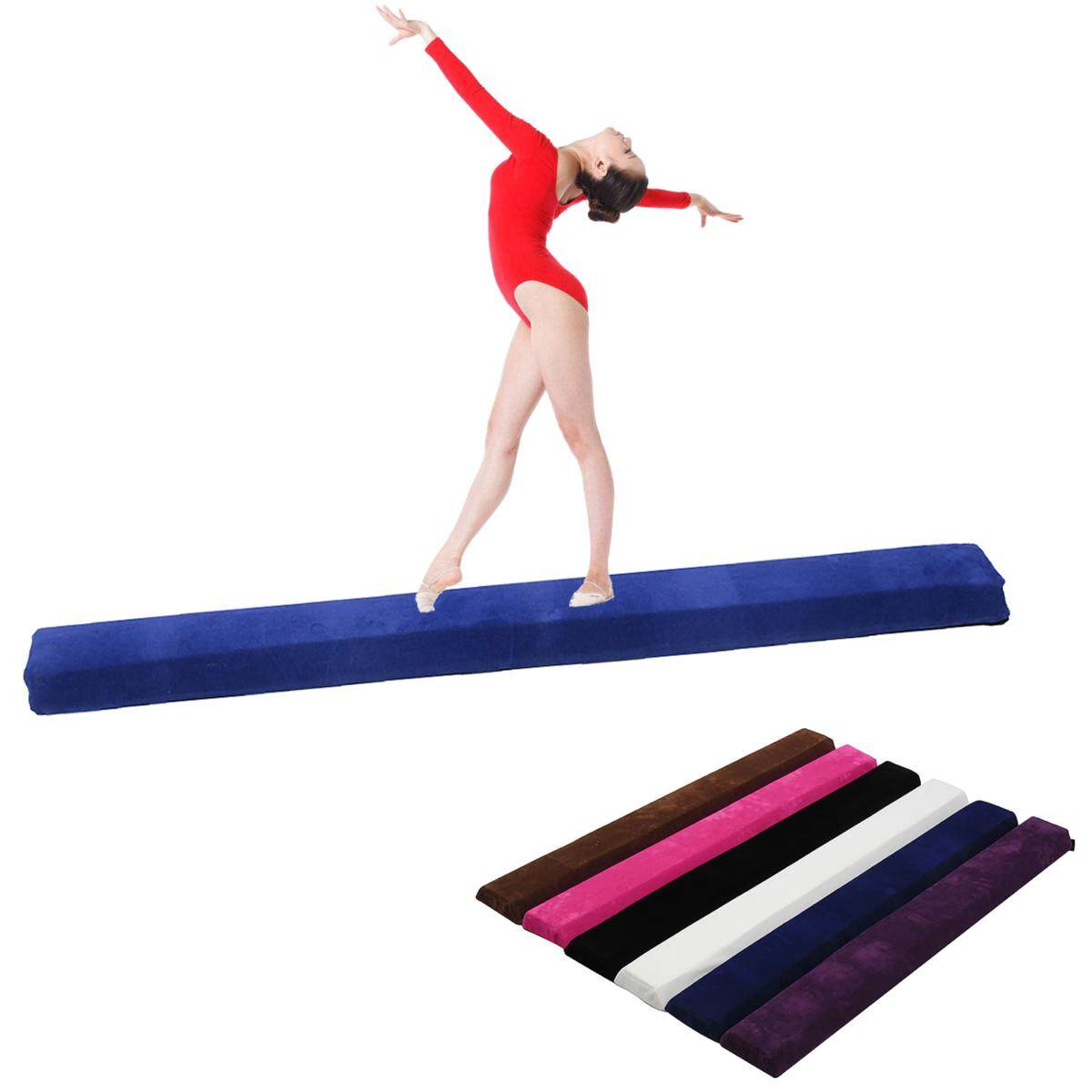 【free Shipping + Flash Deal】115 X 10 X 10 Cm Balance Beam Gymnastics Training Sport Practice Injuries Tumble Mat By Audew.