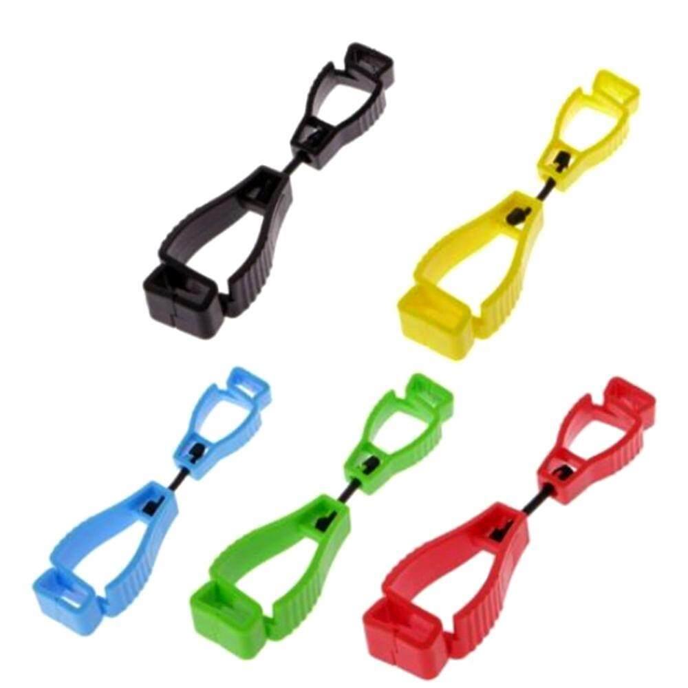 2pcs Work out Glove Clip Holder Hanger Guard Labor Work Clamp Grabber Catcher Safety (random color)