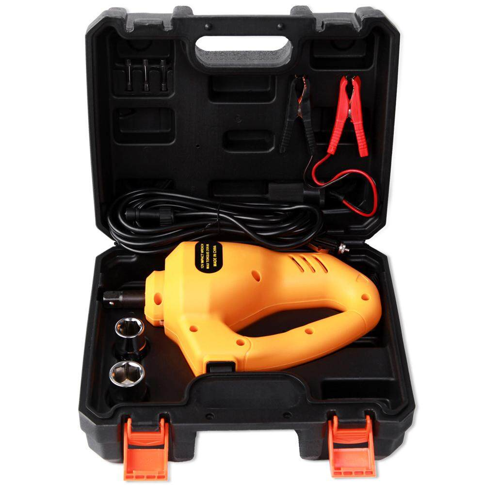 12v Car Electric Wrenches Vehicle Electric Wrench Tire Remover Equipment Auto Repair Accessory By Tomnet.