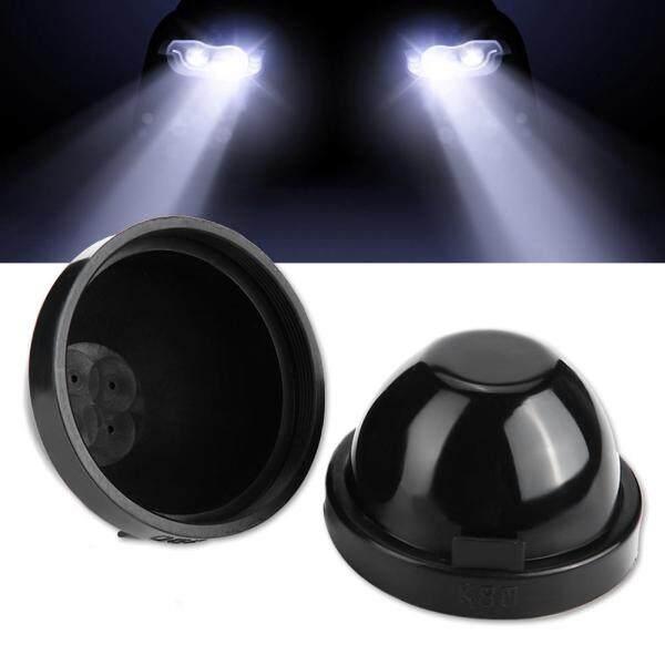 Bộ 2 Đèn LED Cao Su 80Mm Thay Thế Được, Nắp Bịt Vỏ Đèn Pha